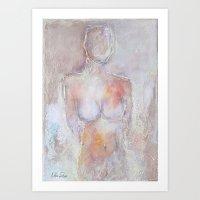 Abstract Figures III Art Print