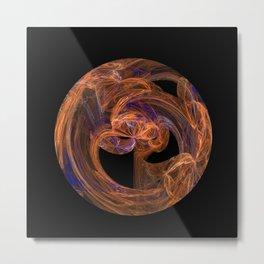 Disc Metal Print