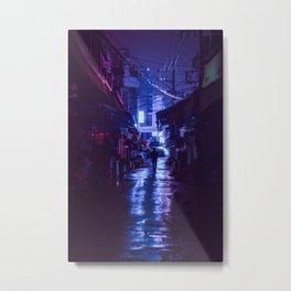 The market afterhours Metal Print