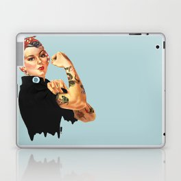 Tattooed Rosie the Riveter Laptop & iPad Skin