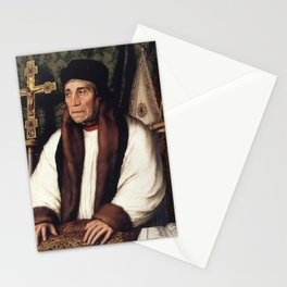 Hans Holbein the Younger - William Warham Stationery Cards