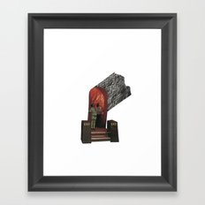 exit Framed Art Print
