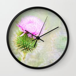 Blessed Thistle Wall Clock