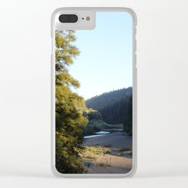 Eel River 1 Clear iPhone Case