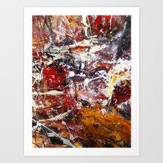 Round About Art Print