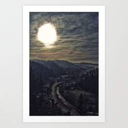 From Dracula's Castle Art Print