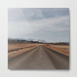 Iceland road Metal Print