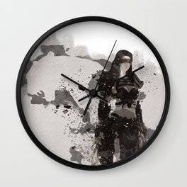 Be a Hero - Leopard spirit Wall Clock