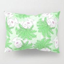Fern-tastic Girls in Neon Green Pillow Sham