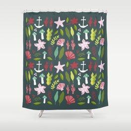 Under The Sea Flash Sheet Shower Curtain