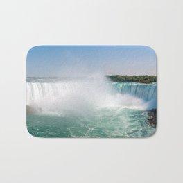 Horseshoe Falls from Niagara Falls - Ontario, Canada Bath Mat
