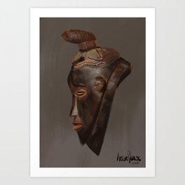 Tribal #6 Art Print