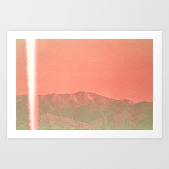 Bolt Art Print