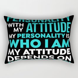 Who You Are - Gift Rectangular Pillow