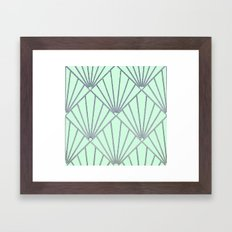 Art Deco Clams Framed Art Print