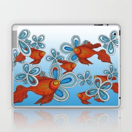Peces en mi Jardin Laptop & iPad Skin