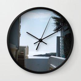 Sea view - Royan, France Wall Clock