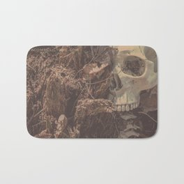 Catacomb Culture - Lost in the Woods Human Skull Bath Mat