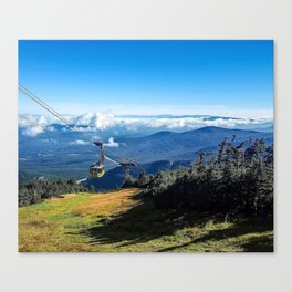 Cannon Mountain's Aerial Tramway Canvas Print