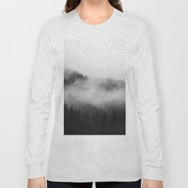 Foggy Forest Long Sleeve T-shirt