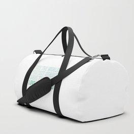 Love Our Oceans Duffle Bag