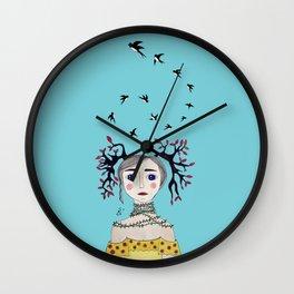 Malificent Wall Clock