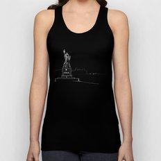 New York by Friztin Unisex Tank Top