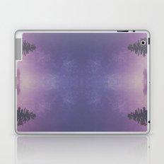 Purple Pines Laptop & iPad Skin