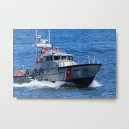 Coast Guard MLB Metal Print