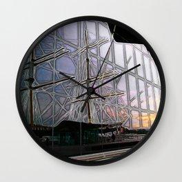 Rigged Reflection Wall Clock