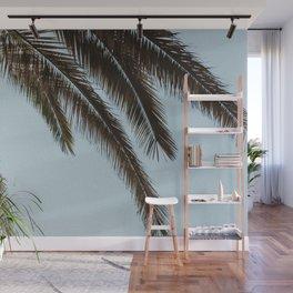 tropical palm leaves Wall Mural