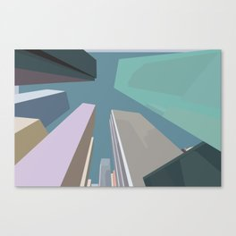 Streetview: 5th / 1st Canvas Print