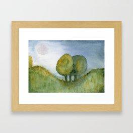 Late Summer Meadow Framed Art Print