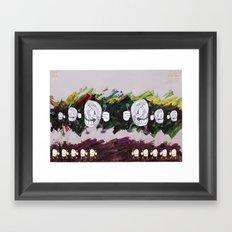 At Stake Framed Art Print