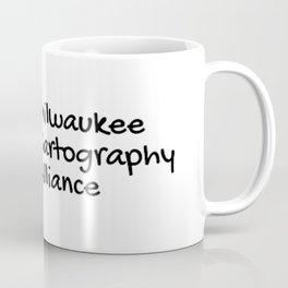 MKE Cartography Coffee Mug