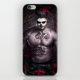 Blake Leaf trapped between darkness and light iPhone Skin