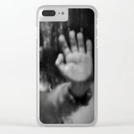 Rain, fall Clear iPhone Case
