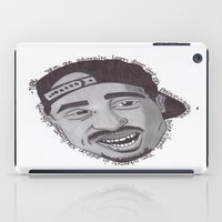 "tupac iPad Cases featuring Tupac ''State Of Mind"" by SkilledCreativity"