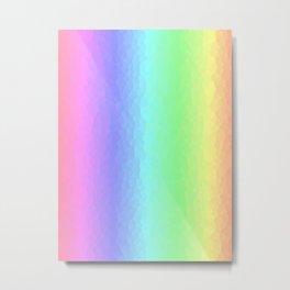 Vertical Pastels Metal Print
