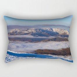 Coniston Fells from the Fairfield Horseshoe Rectangular Pillow