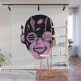 Pink Smile Wall Mural
