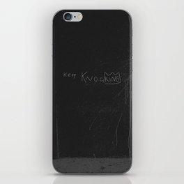 Keep Knocking iPhone Skin