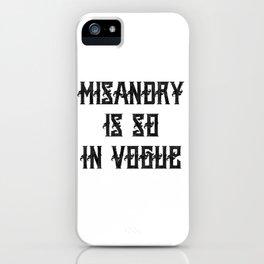 Anti Feminism Misandry Unisex Shirt iPhone Case