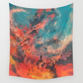 Ashes of Gomorrah Wall Tapestry