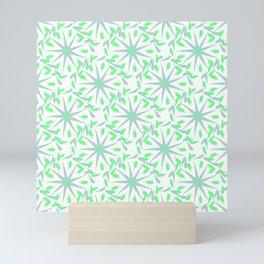 Cute spring abstract pattern Mini Art Print