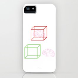 Think Outside The Box iPhone Case