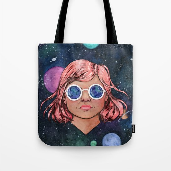 The Universe In Your Eyes Tote Bag
