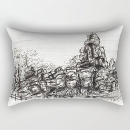 Big Thunder Mountain Rectangular Pillow