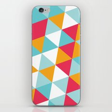 Tropical Triangles iPhone & iPod Skin