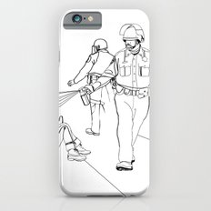Pepper Spray(Illustration for Police Brutality Coloring Book) iPhone 6s Slim Case